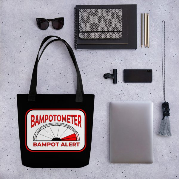 bampot detector tote bag from time travellers at angelacowan.com