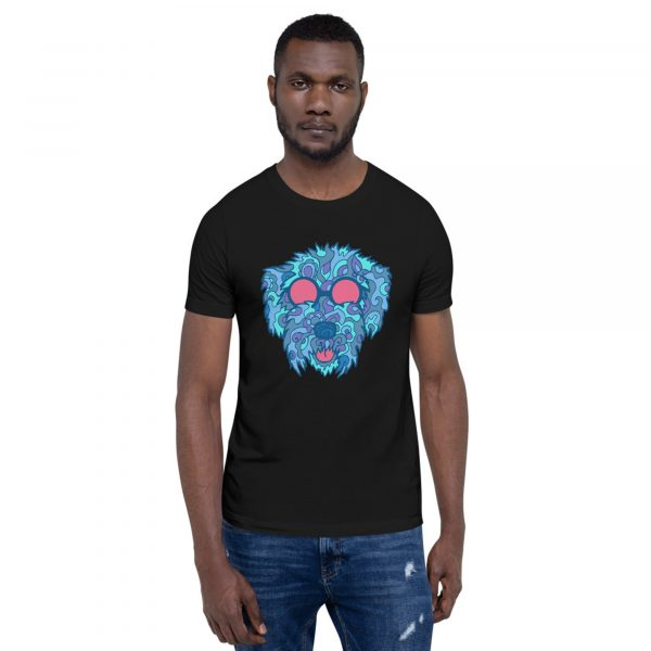 Cockapoo t-shirt in cool blues